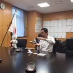 福田峰之マイナンバー担当補佐官と対談