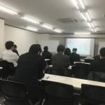 今日は大阪で助成金を使ってPマークを取得するセミナーでした。